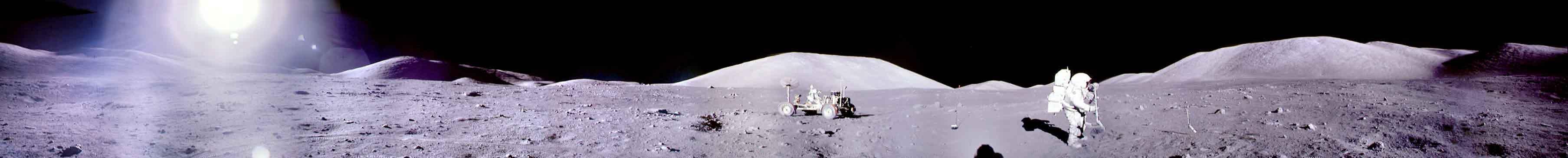 Panorama del Apollo 17
