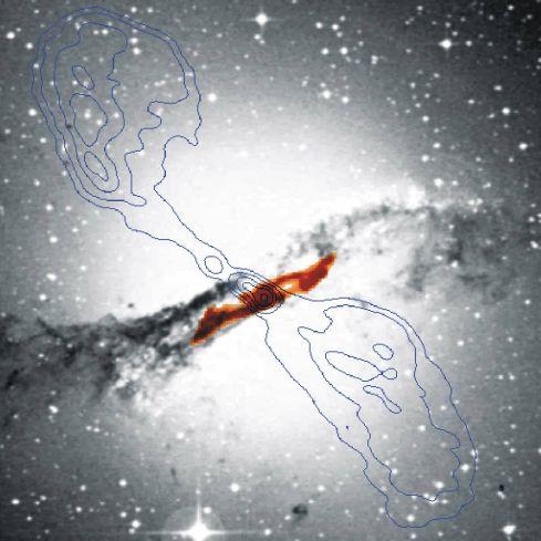 Centaurus A: En lo Profundo de esta Galaxia