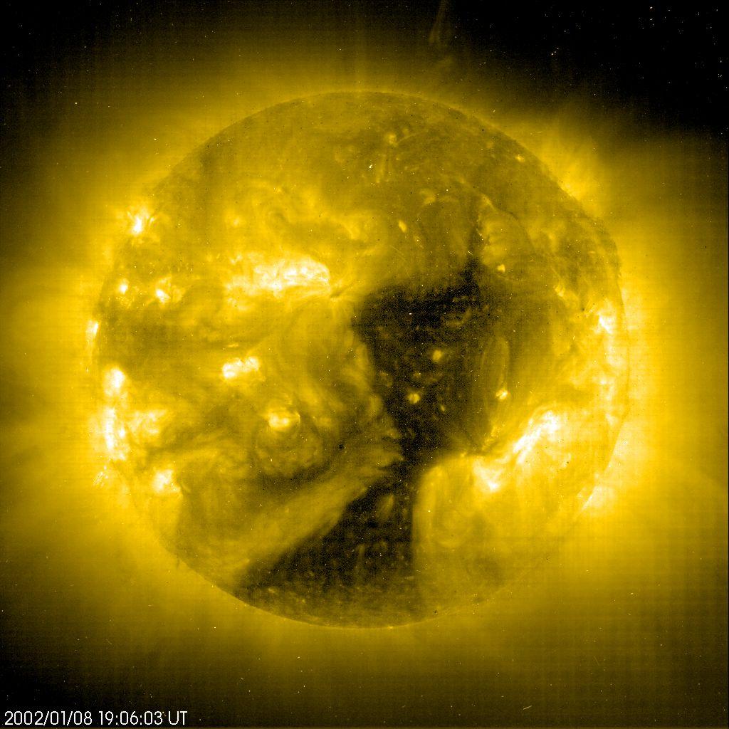 APOD: 2002 February 7 - Coronal Hole