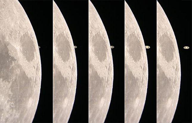 Saturno en el Limbo Lunar