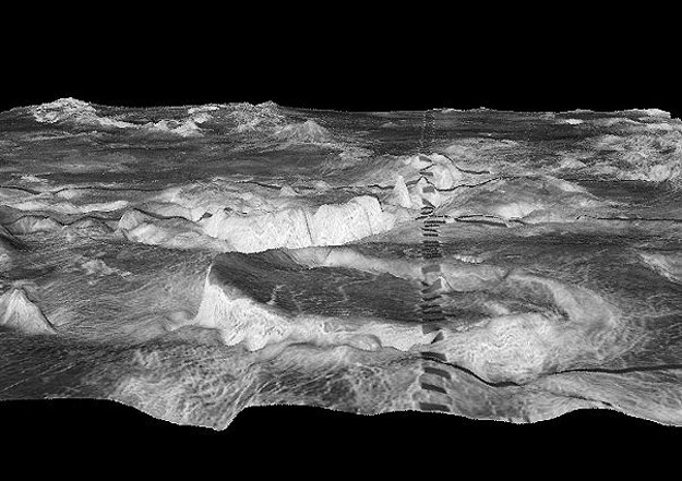 La corona Atete sobre Venus