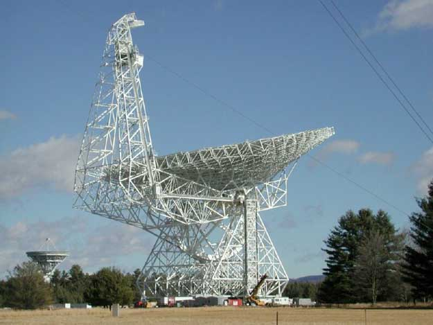 El Radio Telescopio de 100 metros Green Bank