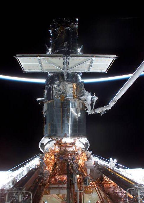 SM3B: Misión al Hubble