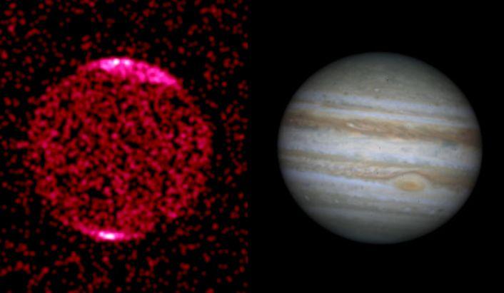 Gran Mancha de Rayos X en Júpiter