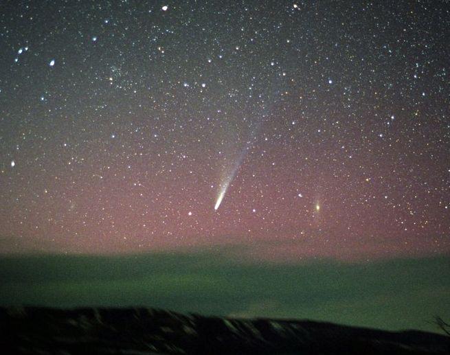 Ikeya-Zhang: Cometa sobre Colorado