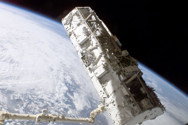Un nuevo brazo para la Estación Espacial Internacional