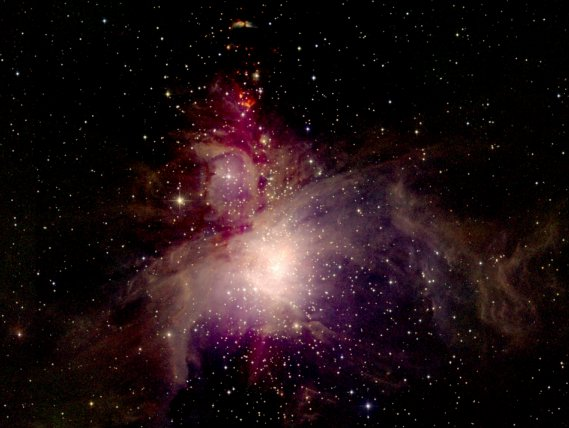 Nebulosa de Orión: vista de 2MASS