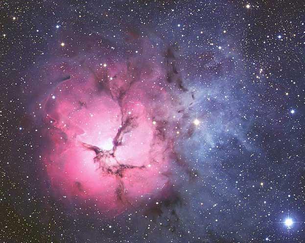 La nebulosa Trífida desde AAO
