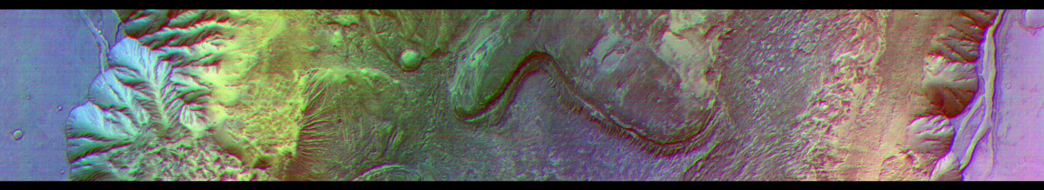 Chandor Chasma en Marte