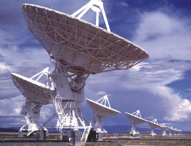 La gran Matriz de Radio Telescopios (VLA)