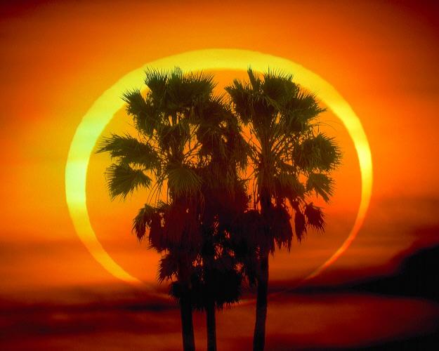 Eclipse anular: el anillo de fuego