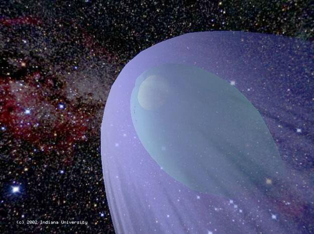La heliosfera y heliopausa solar