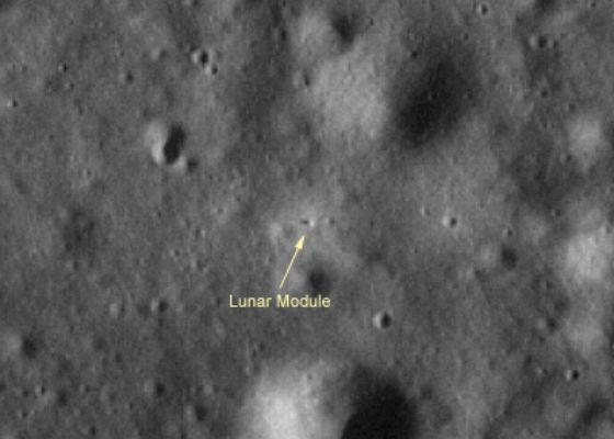 El Módulo Lunar en Taurus-Littrow