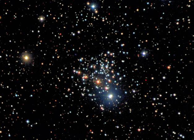 NGC 2266: Viejo cúmulo del Nuevo Catálogo General
