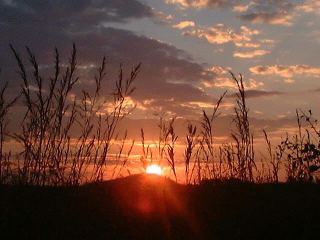 Puesta de Sol en Zimbabwe