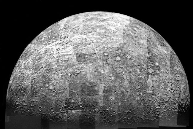 Alejándose de Mercurio
