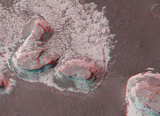 Marte en 3D: el Norte de Terra Meridiani