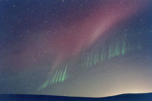 Rayos de una Aurora Inesperada
