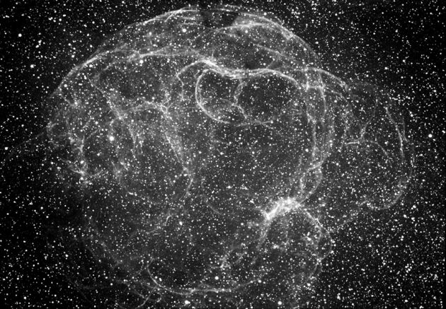 Semeis 147: Supernova Remnant