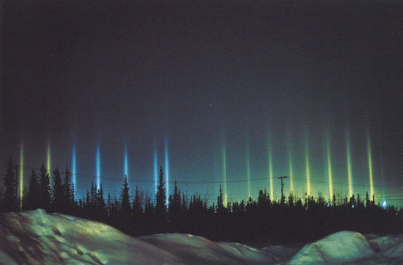 See Explanation Clicking On The Picture Will Download Highest Resolution Version Available Colorful Light Pillars