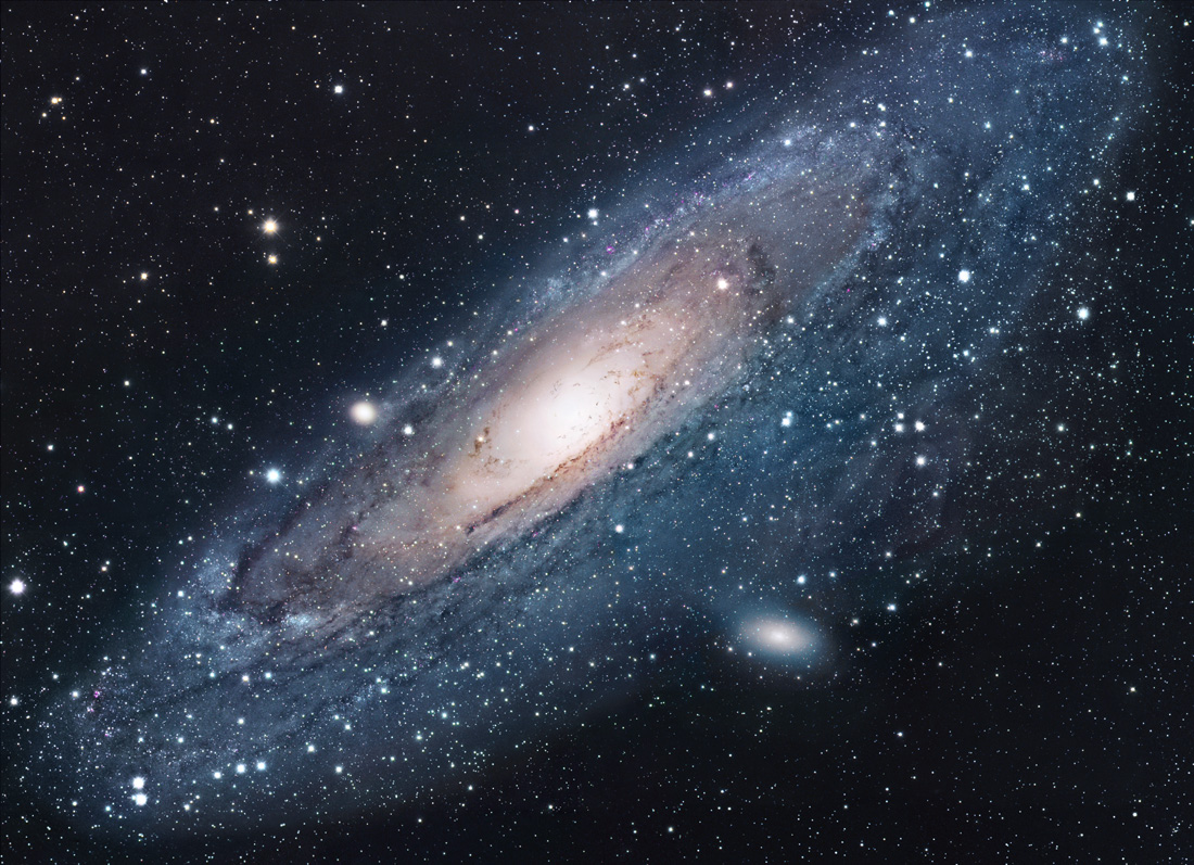 Apod 2004 July 18 M31 The Andromeda Galaxy