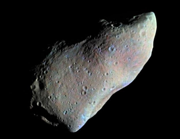 La mejor cara del asteroide Gaspra