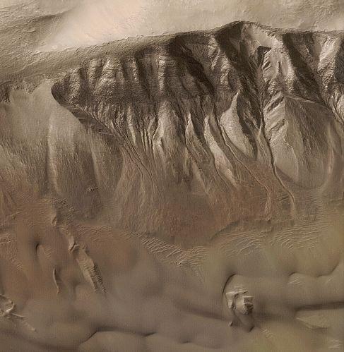 Las Torrenteras de Marte