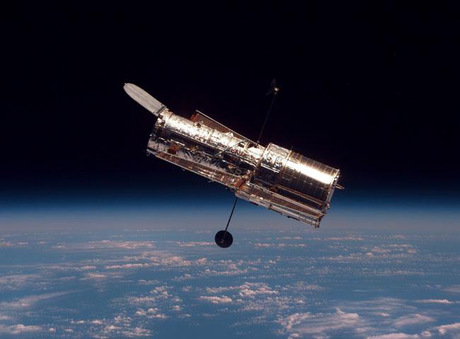 El Hubble flota libre