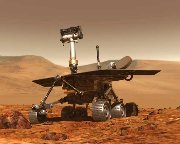 Robot marciano en busca de un nombre