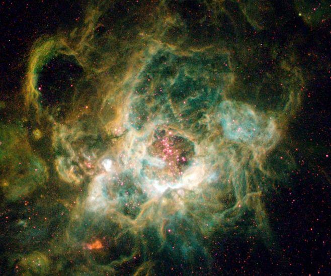 NGC 604: Un gigantesco Vivero Estelar