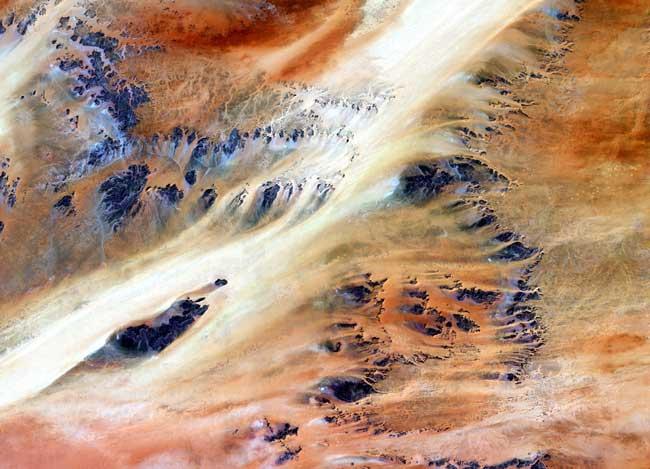 El Oasis Terkezi en el Desierto del Sáhara