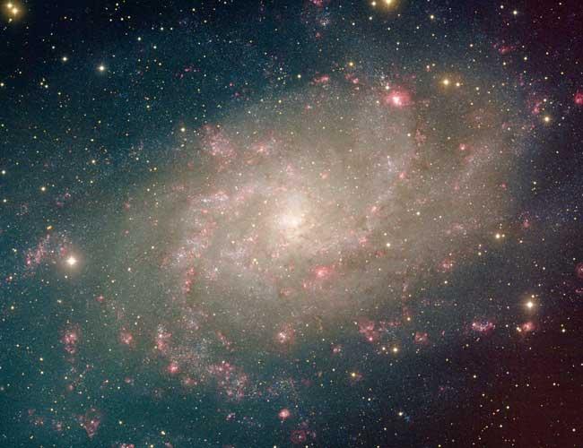 La Cercana Espiral  M33