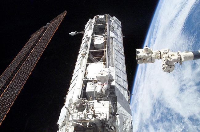 Reforzando la Estación Orbital Internacional
