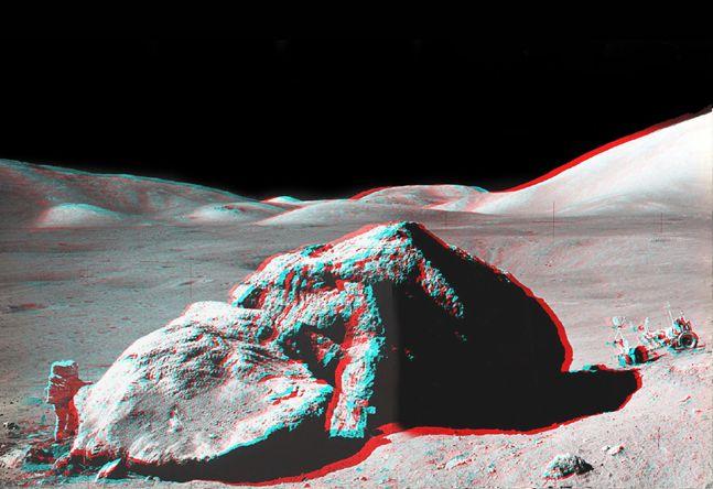 Apollo 17: Peñazco en Estéreo