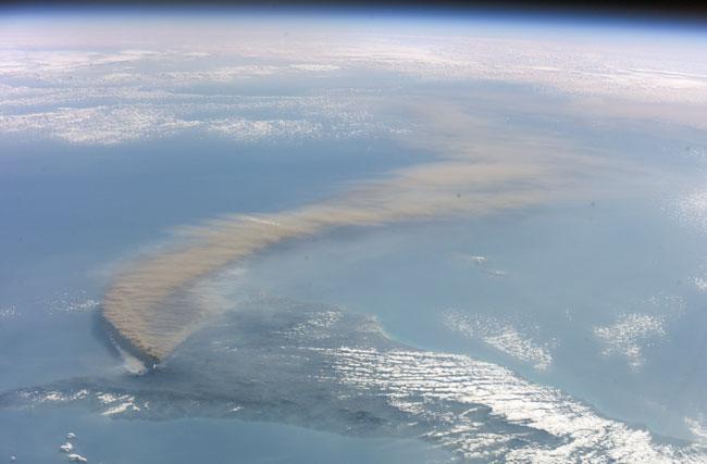 El humo del Etna