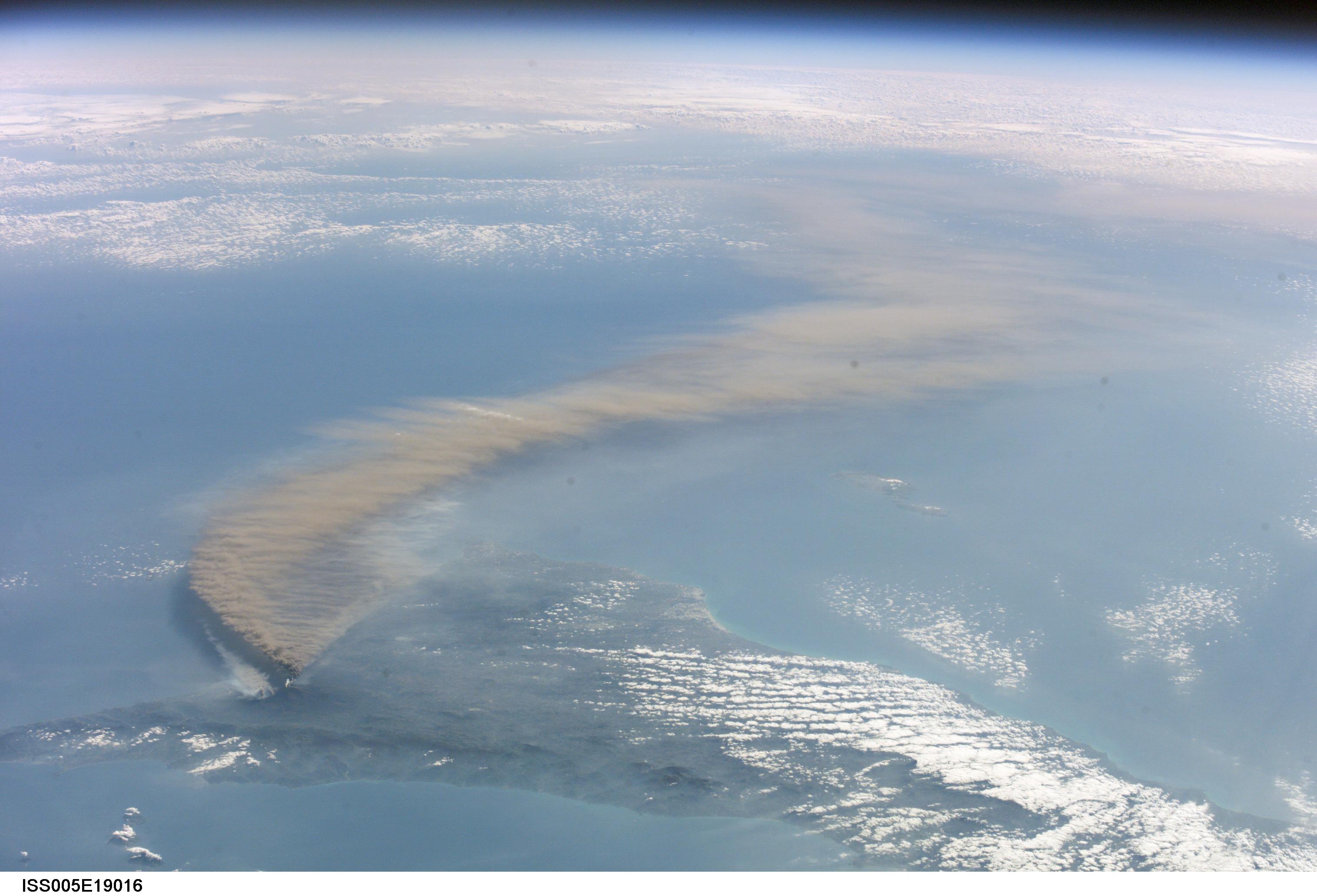 Etna dal satellite