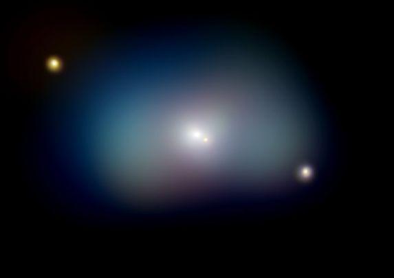NGC 1700: Galaxia elíptica y Disco en rotación
