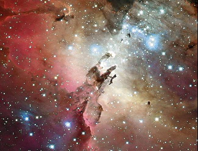 La Nebulosa del Águila, por CFHT