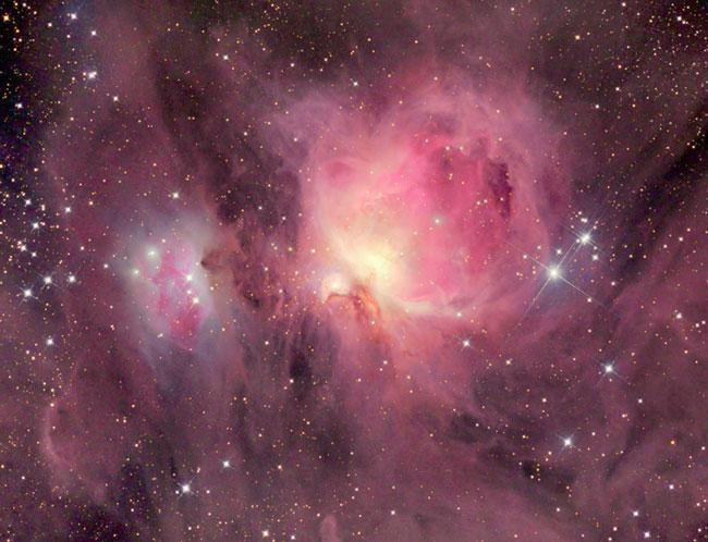 M42: Manojos de la Nebulosa de Orión