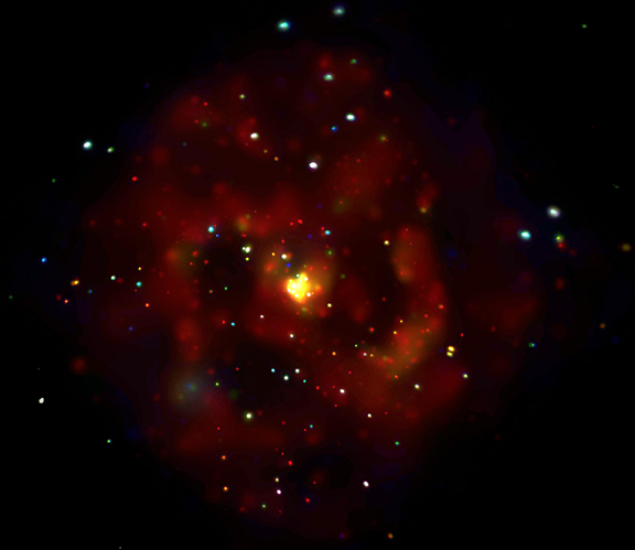 Rayos X en M83