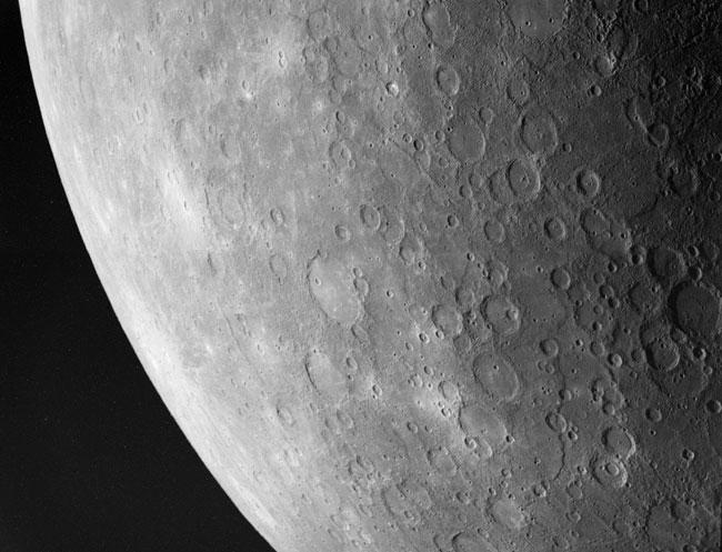 Suroeste de Mercurio