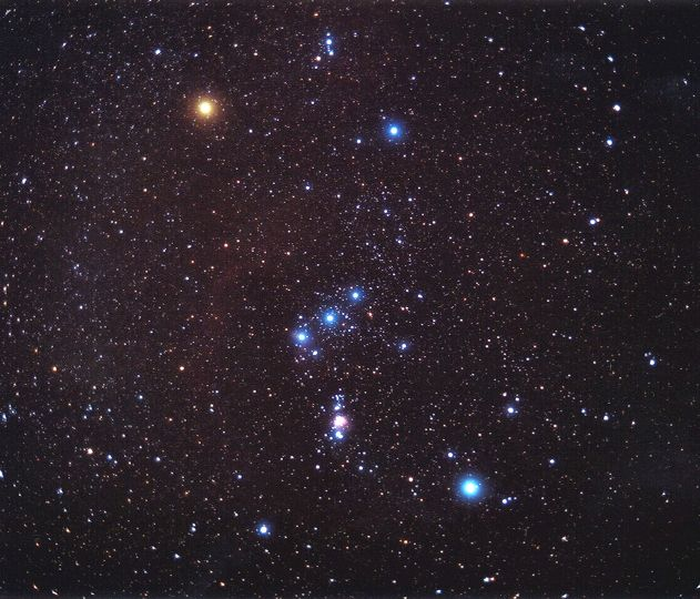 APOD: 2003 February 7 - Orion on Film