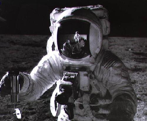 Apollo 12: Auto retrato