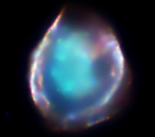 DEM L71: Una pequeña estrella explota