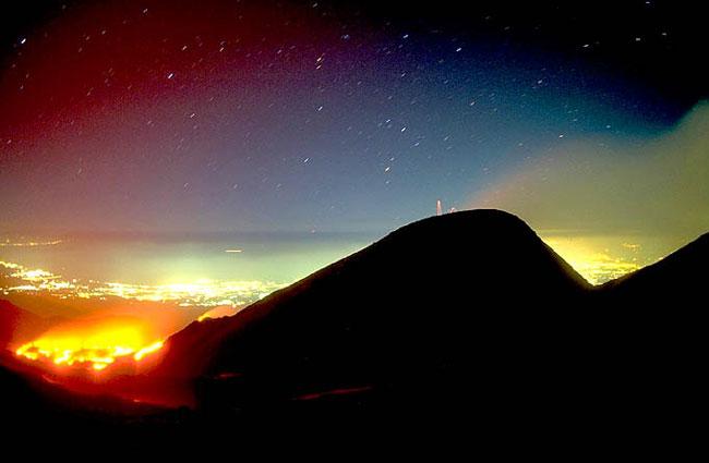 La Lava del Volcán Etna