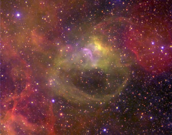 Nebulosa en la Gran Nube de Magallanes