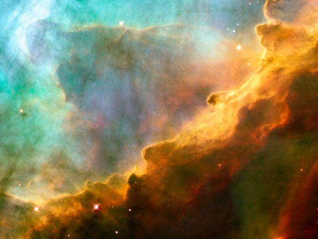 El Hubble observa M17