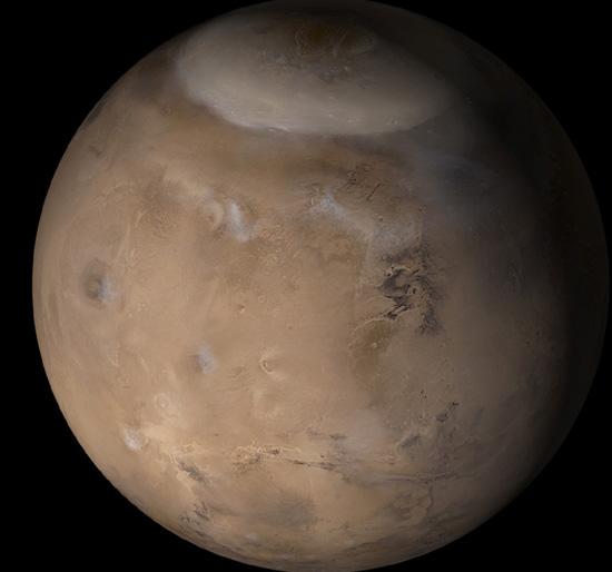 Primavera en Marte