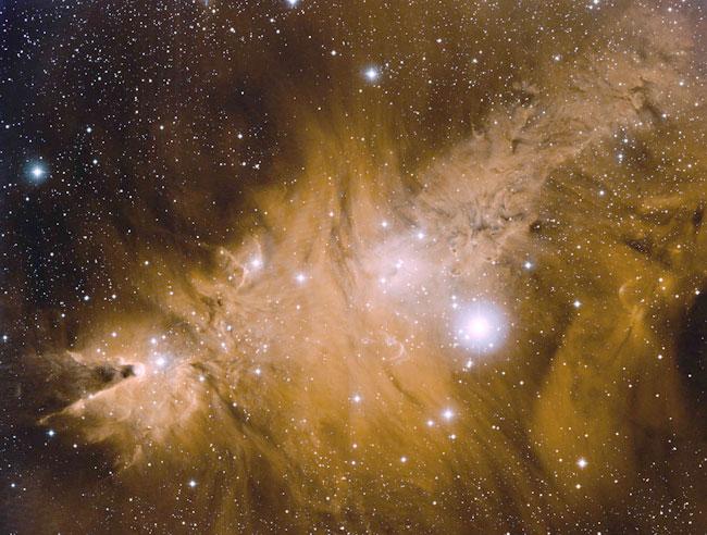 En las cercanías de la nebulosa del Cono