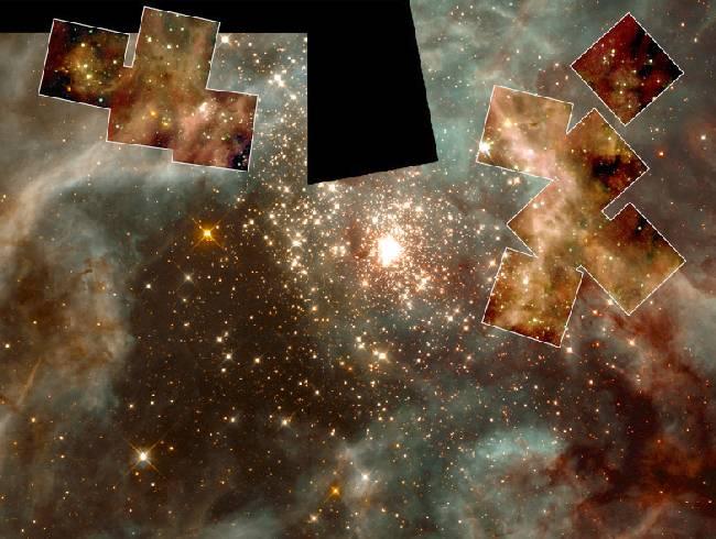Estrellas masivas en Dorado 30